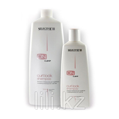 Тонизирующий шампунь для вьющихся волос Selective On Care Tech Сurl Lock Shampoo 750 мл.