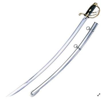 Сабля Cold Steel 1830 Napoleon, Общая длина: 990 мм мм, Длина клинка: 860 мм, Материал клинка: Сталь углеродис