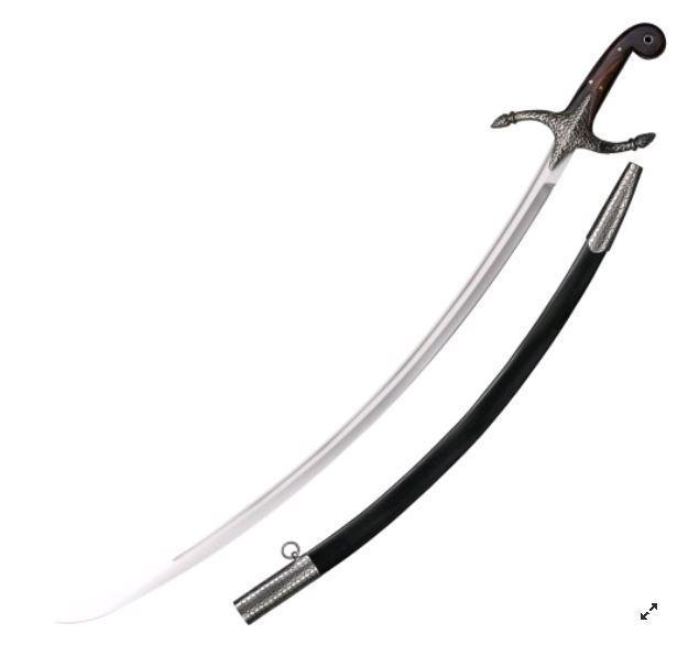 Сабля Cold Steel Scimitar, Общая длина: 980 мм мм, Длина клинка: 815 мм, Материал клинка: Сталь углеродистая 1