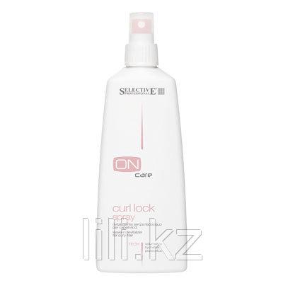 Тонизирующий несмываемый спрей для вьющихся волос Selective On Care Tech Curl Lock Spray 250 мл.