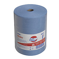 Салфетки WYPALL* X80 Kimberly-Clark 8374 WYPALL X80, протирочный материал в рулонах (голубой)