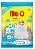 Me-O Комкующийся наполнитель для кошачьего туалета, 10л (8.6 кг)