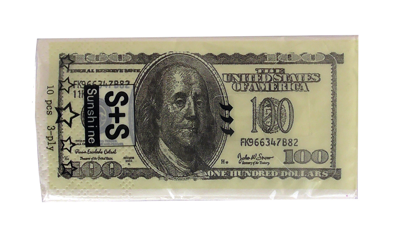 Салфетки Доллар маленькие