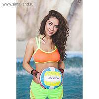 Топ спортивный ONLITOP Summer orange, размер M