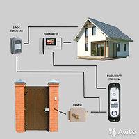 Установка домофонов на частный дом