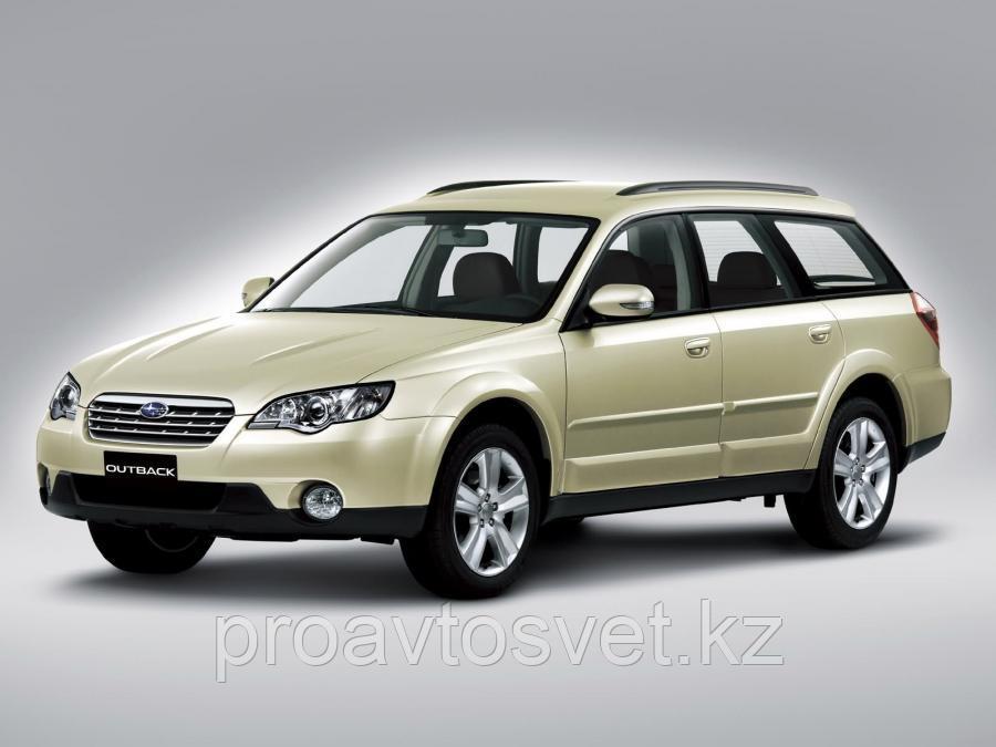 Переходные рамки на Subaru Outback III (BP) дорестайл и рестайл (2003-2009) для Hella 3R
