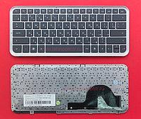Клавиатура для ноутбука  HP Pavilion DM3-1000,RU,  черная,  с рамкой,