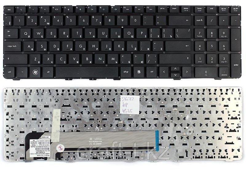 Клавиатура для ноутбука HP ProBook 4530S, RU,  черная,  с рамкой,