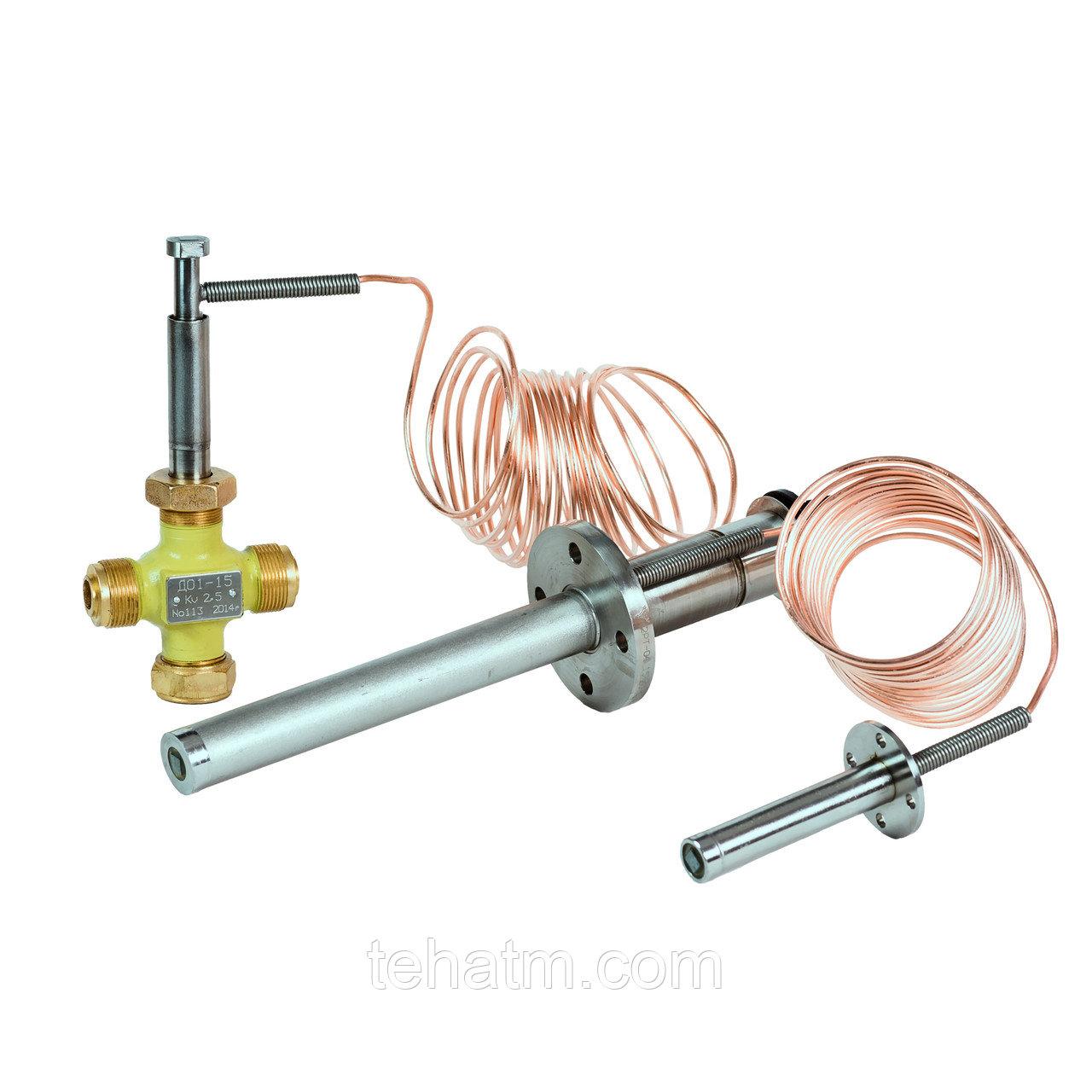 Регулятор температуры с проходными и смесительными клапанами 2РТ, 2РT2
