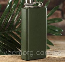 Фляжка «Модерн» зелёная 210 мл