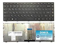 Клавиатура для ноутбука Lenovo G40-30, черная,с рамкой