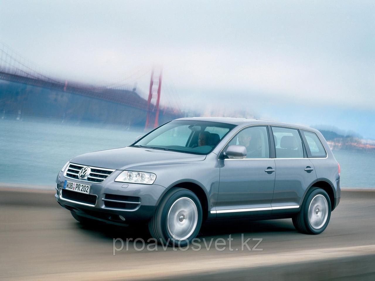 Переходные рамки на Volkswagen Touareg I (GP) дорестайл (2002-2006) Hella 3R