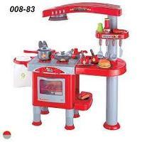 Детская игровая кухня Kitchen Set 008-83 с вытяжкой