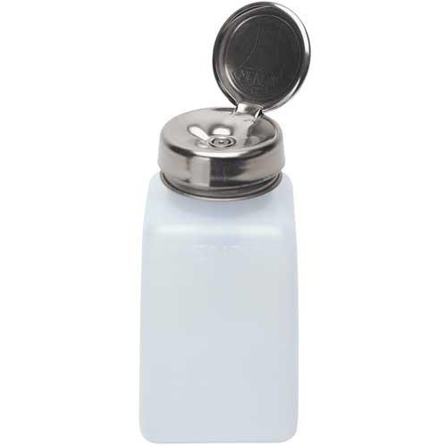 Дозатор для спирта 200 мл, с металлической помпой
