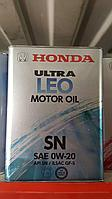 Моторное масло  Honda 0w20 08217-99974 4литра