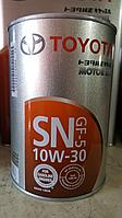 Оригинальное моторное маcло SAE 10W-30 08880-10806 1литра