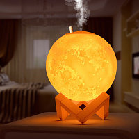 Увлажнитель воздуха +3d ночник Луна