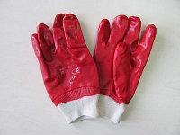 Перчатки рабочие из х/б ткани, облитые латексом , фото 2