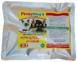 ProteDogs Говядина с крупами для собак и кошек Натуральный Корм для собак, 500г