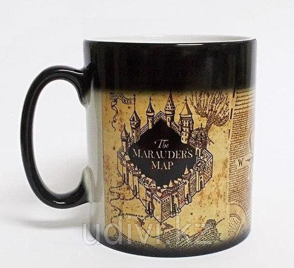 Меняющаяся кружка Карта мародеров Гарри Поттер