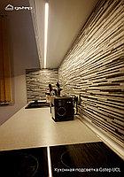 Cенсорная светодиодная подсветка кухни, столешницы, мебели Gstep UCL 100 см  Теплый белый 3000К