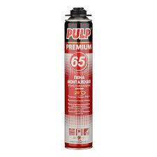 Монтажная пена PULP 65  PREMIUM  (баллон)