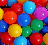 Шарики для бассейна с рисунком, диаметр шара 7,5 см, набор 150 штук, разноцветные, фото 2