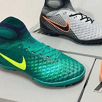 Бутсы футбольные Nike Magista Obra II TF (сороконожки) подростковые, фото 1
