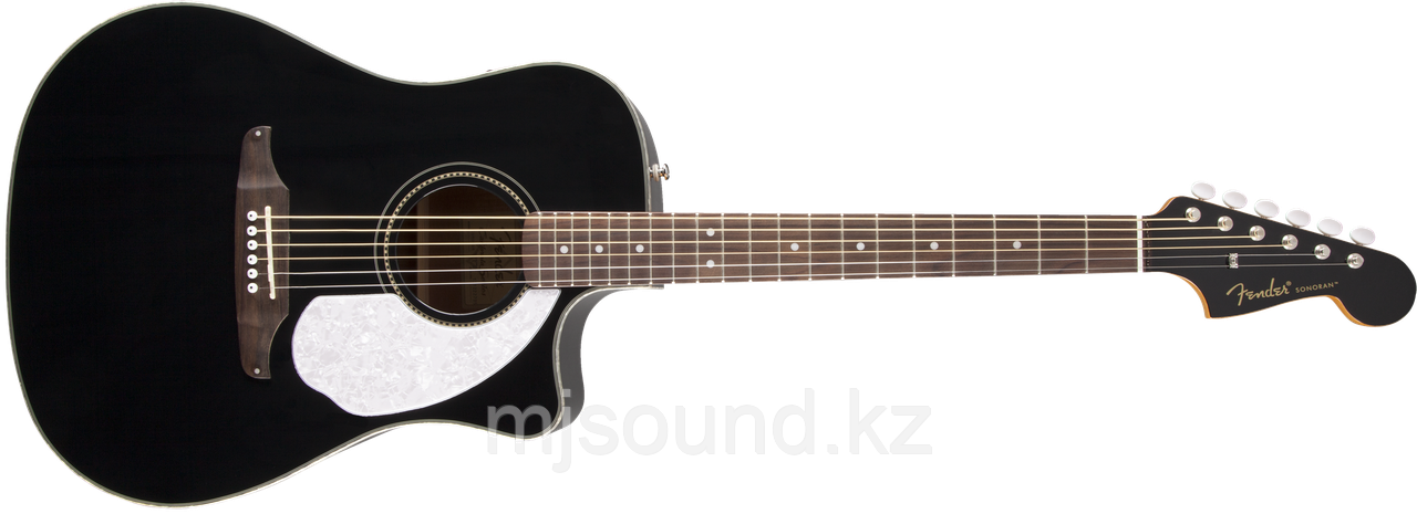 Электроакустическая гитара Fender Sonoran SCE  Black v2