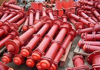 Гидрант пожарный подземный, высота 2250,гост 8220-85