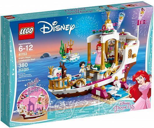 Lego Disney Princess  41153 Королевский корабль Ариэль Лего Принцессы Дисней