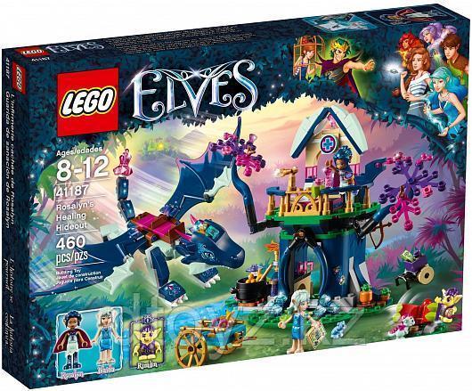 Lego Elves 41187 Тайная лечебница Розалин Лего Эльфы