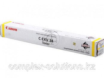 Тонер картридж CANON CEXV34/Y/IRAC20X0 [3785B002] | [оригинал]