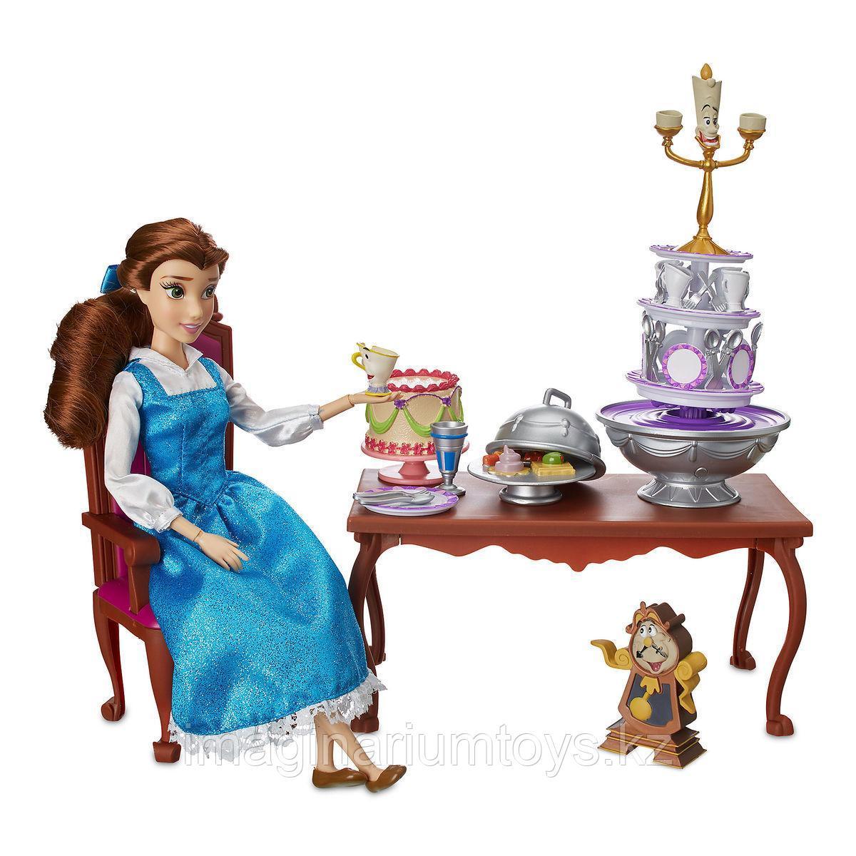 Игровой набор Бэлль с героями из м/ф «Красавица и чудовище»
