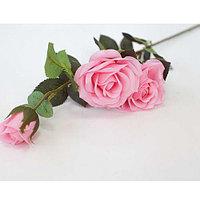 """Цветы искусственные """"Роза"""" Real Touch (8см)"""