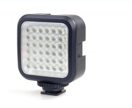 Накамерный прожектор LED-36 с аккумулятором и зарядным ., фото 2
