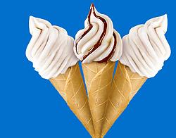 Сахарный рожок для мороженого