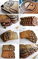 Доски деревянные сервировочные