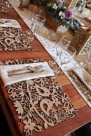 Сервировочные салфетки на стол под приборы