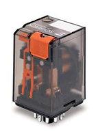Реле, 3 контакта 10А, катушка 230В переменного тока, фото 1