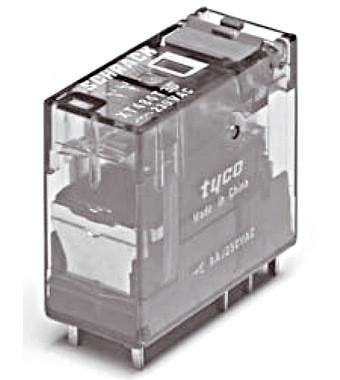 Интерфейсное реле, 2 прекл. контакта, 24VAC, 8A