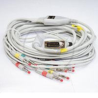 Кабель ЭКГ (Philips, IEC, DIN 3.0) 018BCI, фото 1