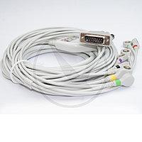 Кабель ЭКГ (Philips, IEC, Snap) 018SCI