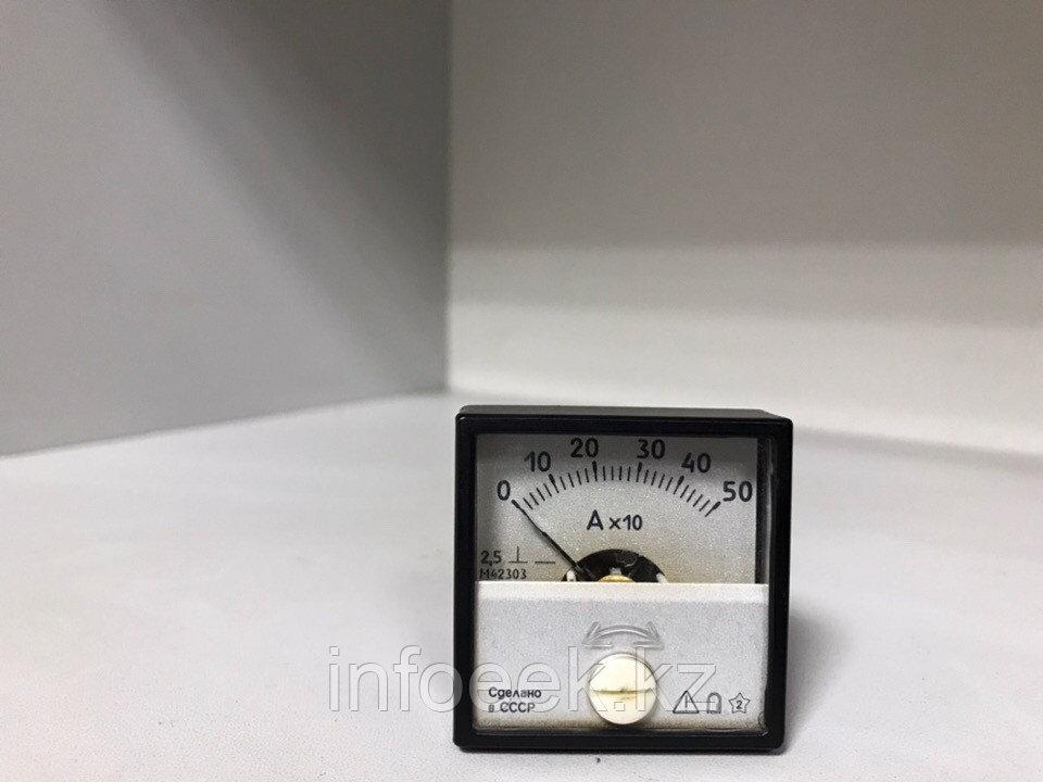 Амперметр М-42303  0-50(х10) А
