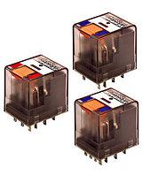Промежуточное реле PT, 2 перекл.контакта, 12А, 230VAC