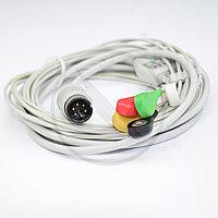 Кабель ЭКГ монитора Мindray (5 отв., IEC, Snap) 020C5I, фото 1