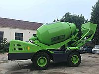 Самозагружающийся бетоносмеситель HY – 350