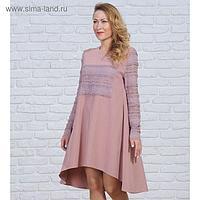 Платье женское 6067 цвет розовый, р-р 42
