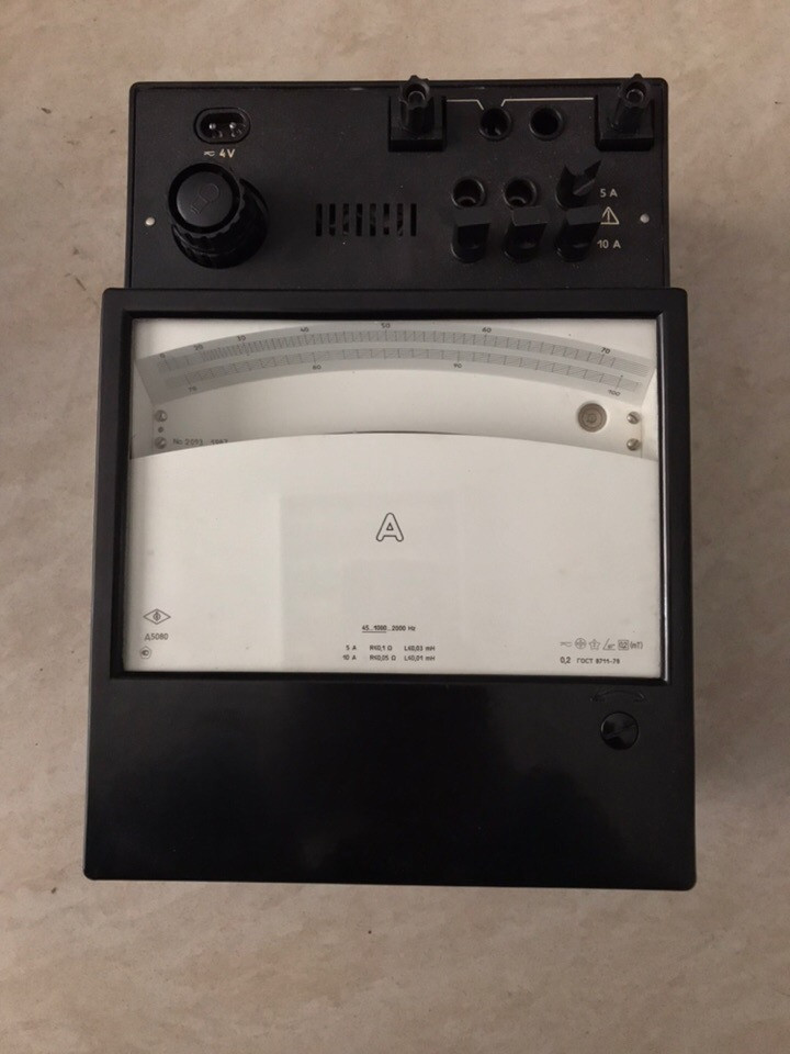 Амперметр Д5080