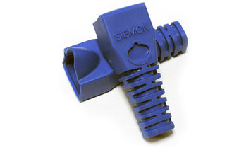 Siemon MC-BOOT-06-100 Комплект колпачков, синие (100 шт.)